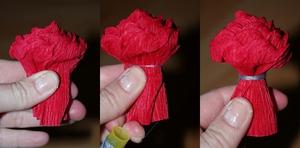 Rực rỡ giỏ hoa hồng giấy làm đẹp nhà mình 6
