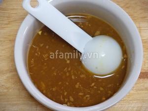 Gà xốt cam ngon cơm bữa tối