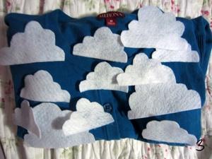 3 bước đơn giản trang trí áo len dễ thương 4