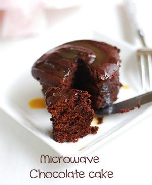 Làm bánh chocolate bằng lò vi sóng trong nháy mắt 6