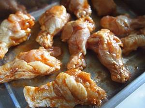 Món ngon cuối tuần: Cánh gà nướng mật ong 5