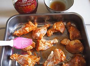 Món ngon cuối tuần: Cánh gà nướng mật ong 6
