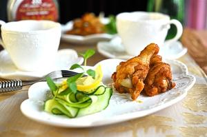 Món ngon cuối tuần: Cánh gà nướng mật ong 8