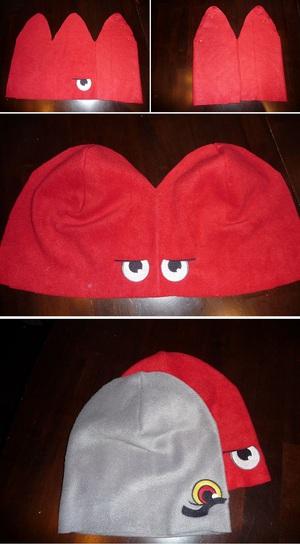 Ngộ nghĩnh bộ khăn mũ vải dạ cho mùa đông ấm áp 5