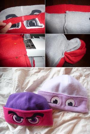 Ngộ nghĩnh bộ khăn mũ vải dạ cho mùa đông ấm áp 6