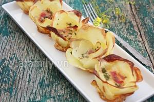Món ăn vặt mới cực ngon từ khoai tây 8