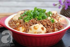Mapo tofu - món đậu phụ xào thịt cực ngon 10