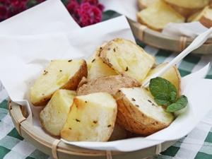 Khoai tây nướng thơm ngon  6