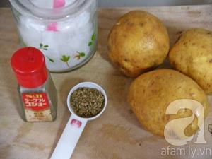 Khoai tây nướng thơm ngon  2