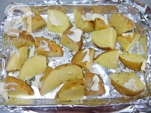 Khoai tây nướng thơm ngon  4