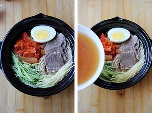 Tự làm mì lạnh kiểu Hàn dễ lắm nhé! 9