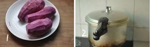 Bánh rán Doremon nhân khoai lang tím siêu hấp dẫn 2