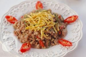 Thịt heo xào lá chanh làm nhanh ăn ngon 10