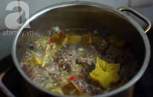 Bò kho khế - món ngon ngày mát trời 7