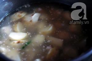 Canh khoai sọ nấu thịt băm giản dị ngon cơm 5