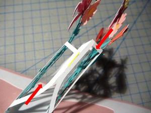 Làm thiệp 3D bình hoa tươi khoe sắc 8