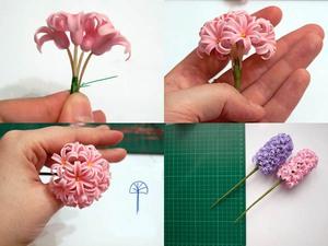 Dùng đất sét Nhật làm chậu hoa lục bình cực xinh 10