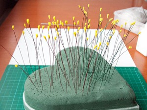 Dùng đất sét Nhật làm chậu hoa lục bình cực xinh 3