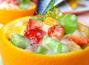 3 kiểu hoa quả trộn sữa chua ngon cho ngày hè 3