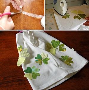 Dùng vải vụn trang trí áo cho bé thật dễ dàng 3