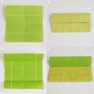 Gấp hộp quà xinh xắn theo phong cách Origami 3