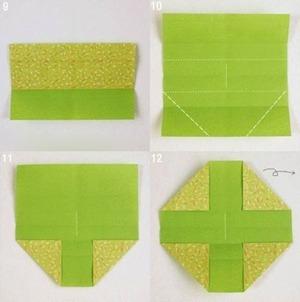 Gấp hộp quà xinh xắn theo phong cách Origami 4
