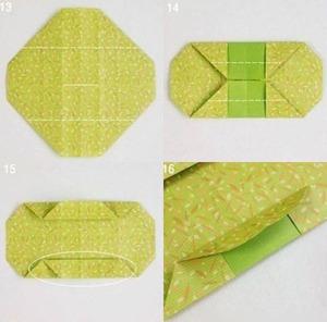 Gấp hộp quà xinh xắn theo phong cách Origami 5