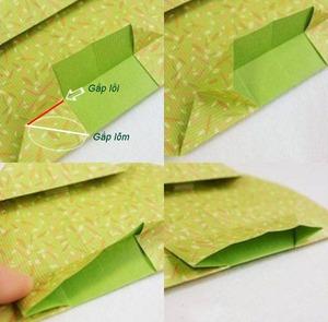Gấp hộp quà xinh xắn theo phong cách Origami 6