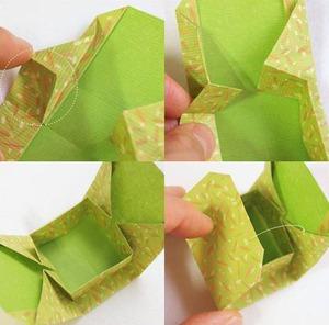 Gấp hộp quà xinh xắn theo phong cách Origami 9