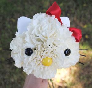 Cắm hoa hình mèo Kitty dễ thương! 7
