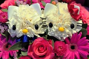 Cắm hoa hình mèo Kitty dễ thương! 8