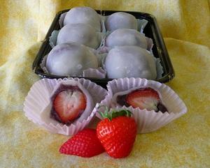 Bánh mochi dâu tây - nét tinh tế ẩm thực Nhật 9