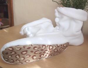 Tết khỏi lo rét với bốt vải đi trong nhà xinh xắn 7