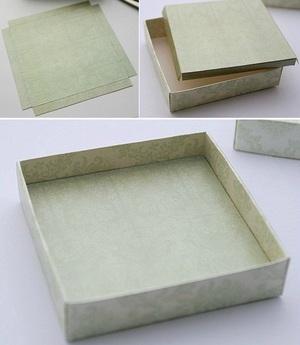 Cách gấp dán hộp đựng quà tiện dụng và đẹp mắt 5