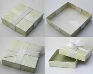 Cách gấp dán hộp đựng quà tiện dụng và đẹp mắt 6