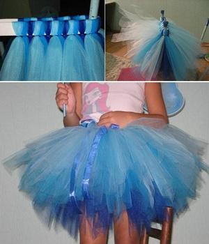 Cách may váy xòe đáng yêu cho bé gái 7