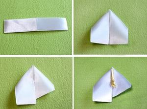 Cách làm thiệp hoa ruy-băng đơn giản mà đẹp 3