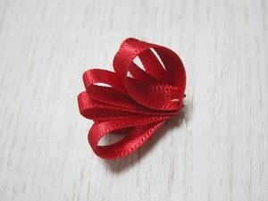 Mẹ làm dây buộc tóc bông hoa xinh tặng bé 5