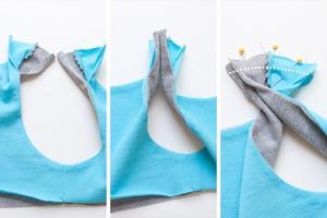 Cách cơ bản may váy đầm cho bé diện hè 4