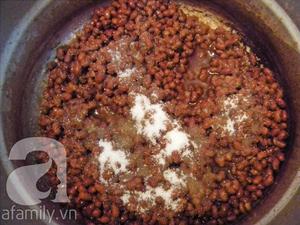 Tráng miệng với món chè đậu đỏ thạch trà xanh mát lịm