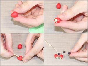 3 bước đơn giản gấp hộp quà hình bánh gato xinh xắn 5