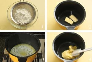 Cách làm bánh su kem hình thiên nga cực xinh 2