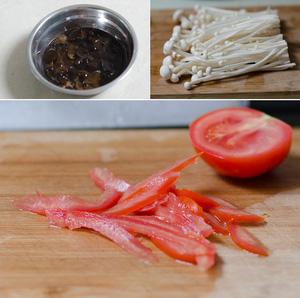 Salad nấm kim châm giòn ngon bổ dưỡng 2