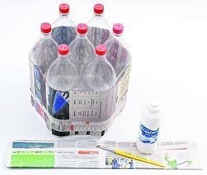 Tái chế vỏ chai nhựa thành chiếc ghế ngộ nghĩnh 2