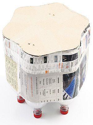 Tái chế vỏ chai nhựa thành chiếc ghế ngộ nghĩnh 3