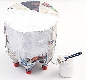 Tái chế vỏ chai nhựa thành chiếc ghế ngộ nghĩnh 4