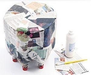 Tái chế vỏ chai nhựa thành chiếc ghế ngộ nghĩnh 5