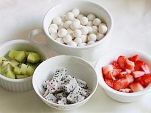 Chè hoa quả trân châu - làm nhanh ăn ngon 2