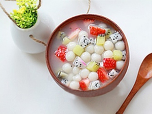 Chè hoa quả trân châu - làm nhanh ăn ngon 5
