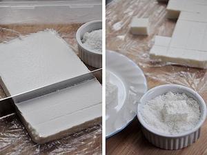 Tự làm bánh khúc bạch mát lạnh dẻo thơm 5
